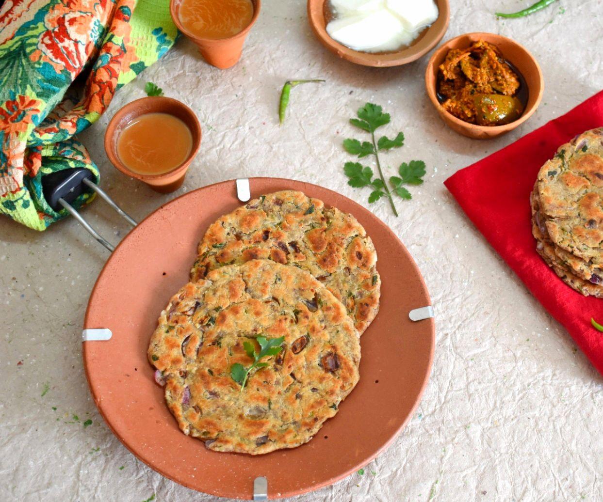 Sindhi Koki Recipe | How to Make Sindhi Koki