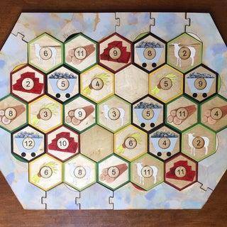 Super Simple Settlers of Catan Board