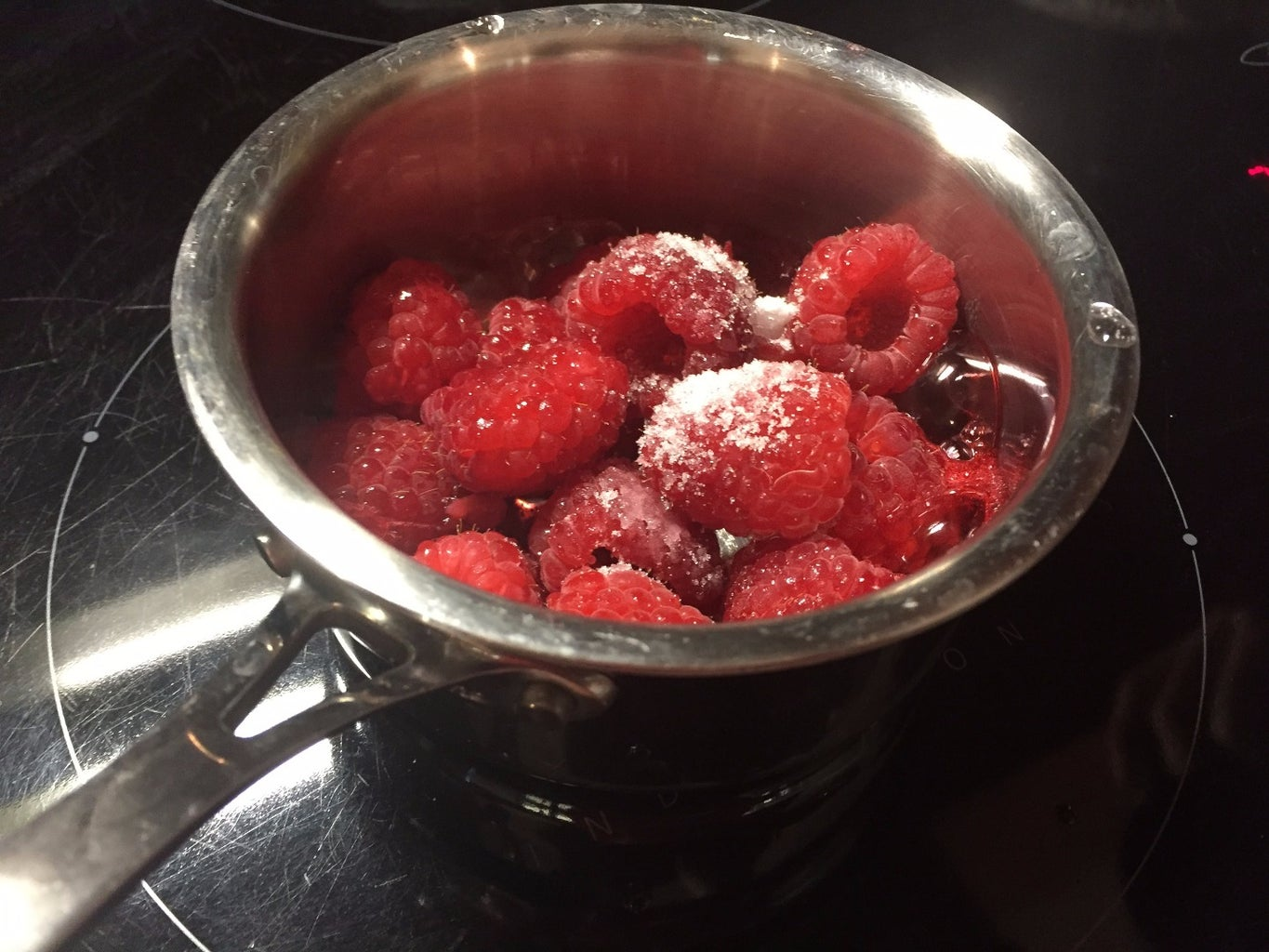 Make the Raspberry Coulis