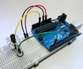 Simple IR Proximity Sensor With Arduino