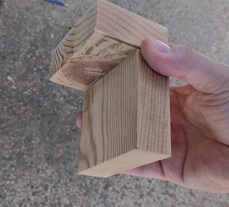Cutting the Wood Pieces