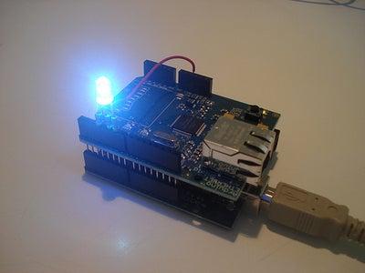 Uploading the Arduino LED Test