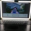 LED Ring Light for Laptop Screen