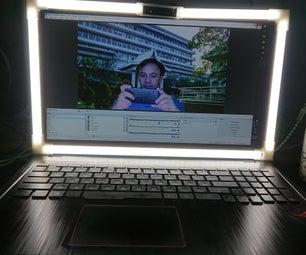 用于笔记本电脑屏幕的LED环形灯
