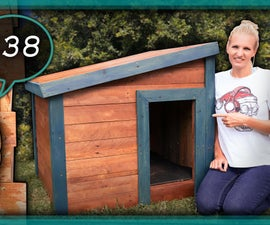 How to Build a Dog Kennel - Cheap and Easy Dog House