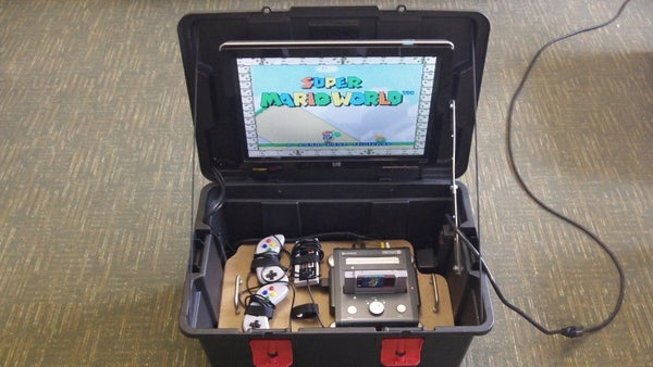 Portable Game System Box: Built for < $30