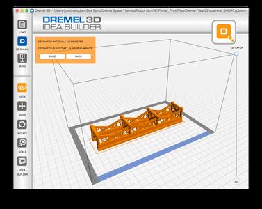 Print Using the Dremel 3D App