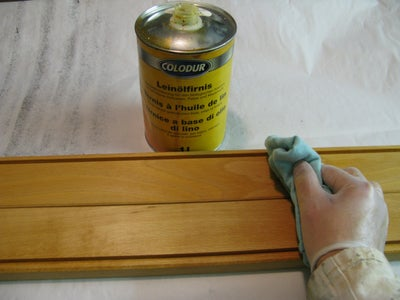 Oiling and Painting
