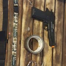DuckTape Airsoft Pistol Leg Strap