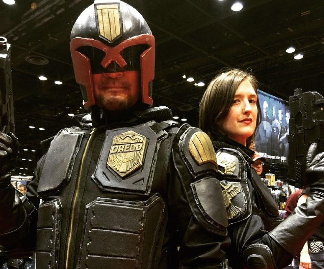How to make a Judge Dredd Costume