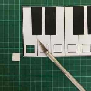 Cut Holes for Makey Makey Keys