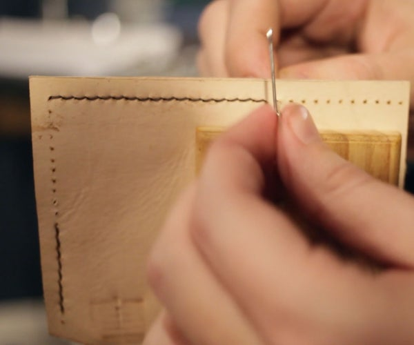 A Basic Guide to Stitching Leather