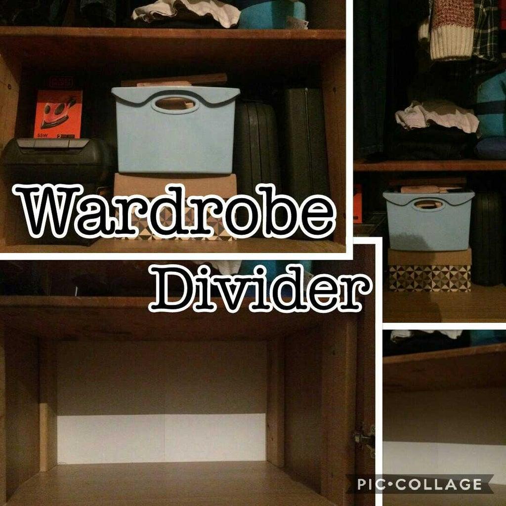 Wardrobe Divider/Shelf