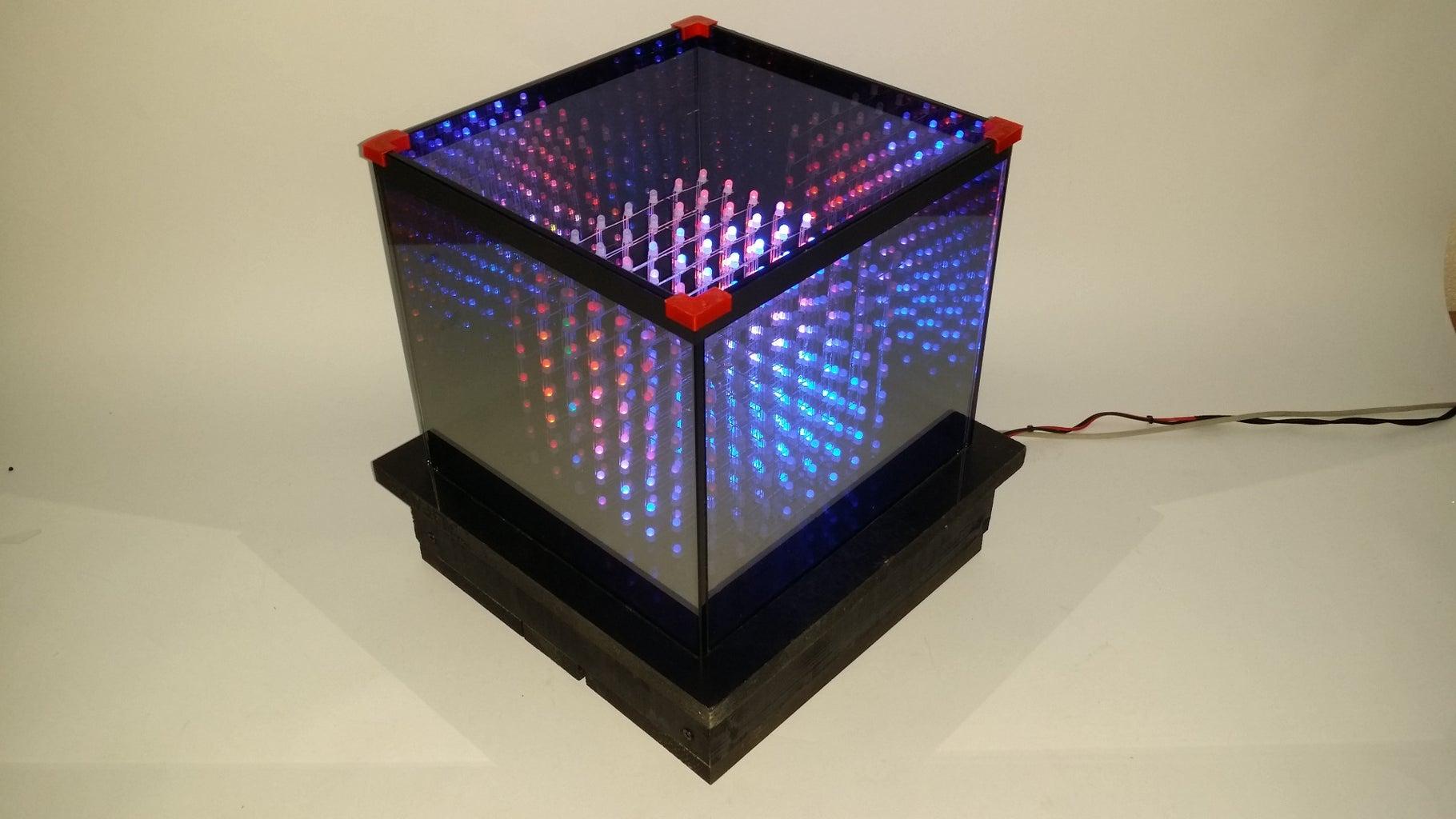 Infinite RGB LED Cube
