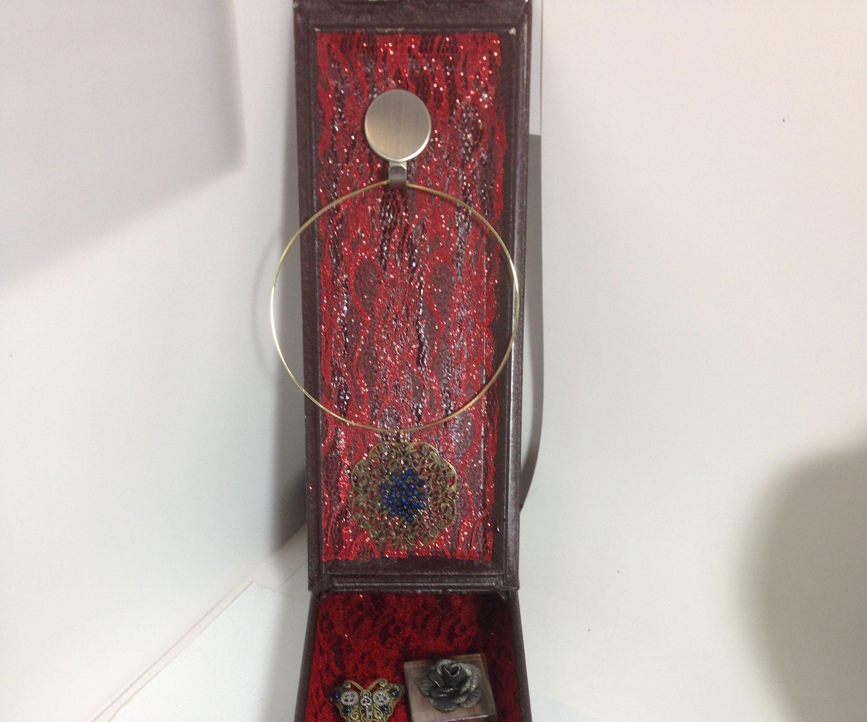 Plain Brown Box to Steampunk Jewelry Display