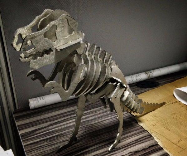 T-Rex 3D Pirnting CNC Lasercut