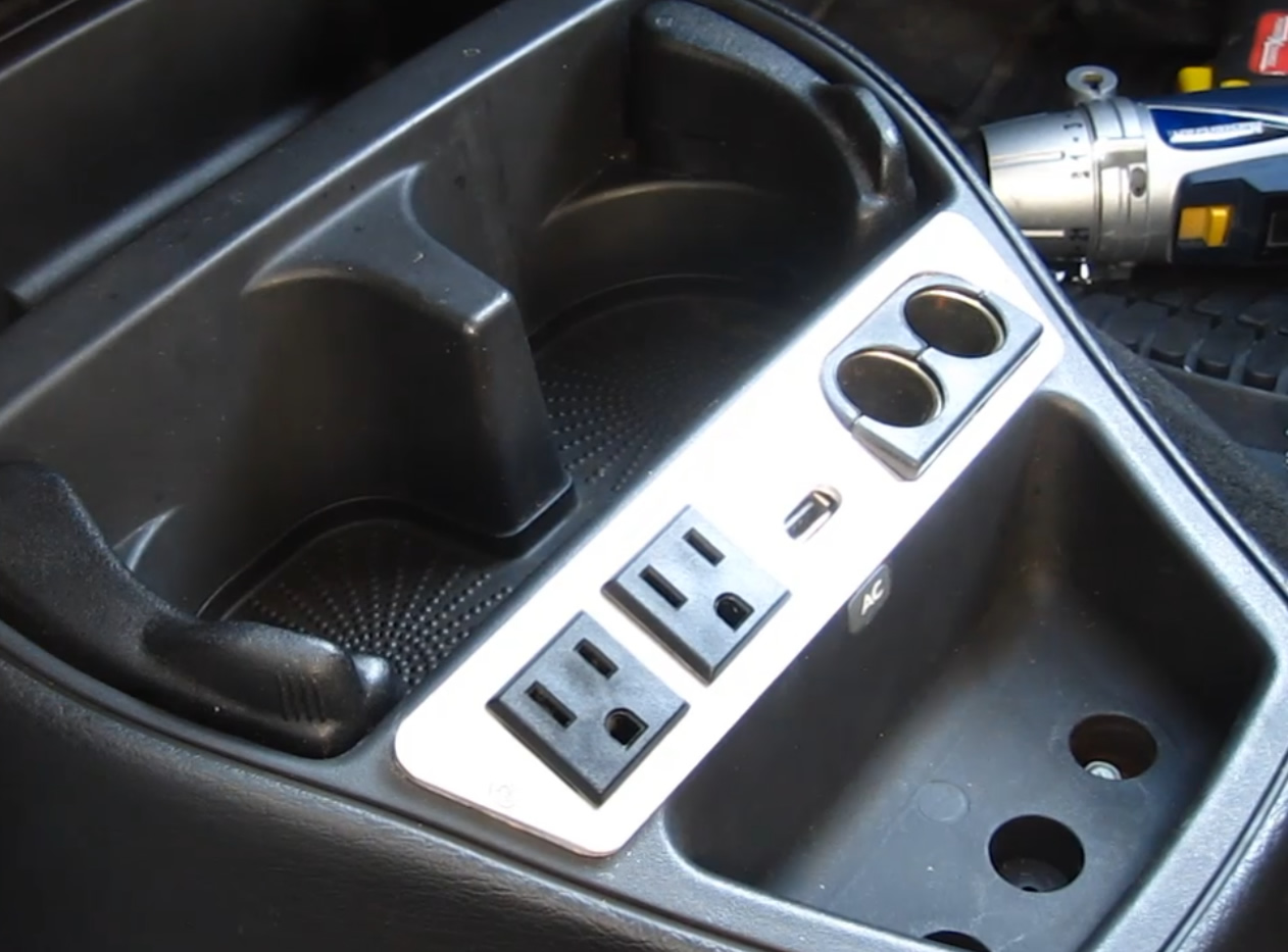 How to install a cool looking power panel in your vehicle