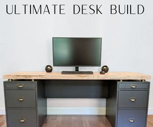 How to Build a Modern Industrial Desk