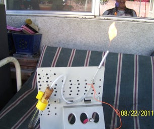 Flamable Gas Generator (experiment # 1)