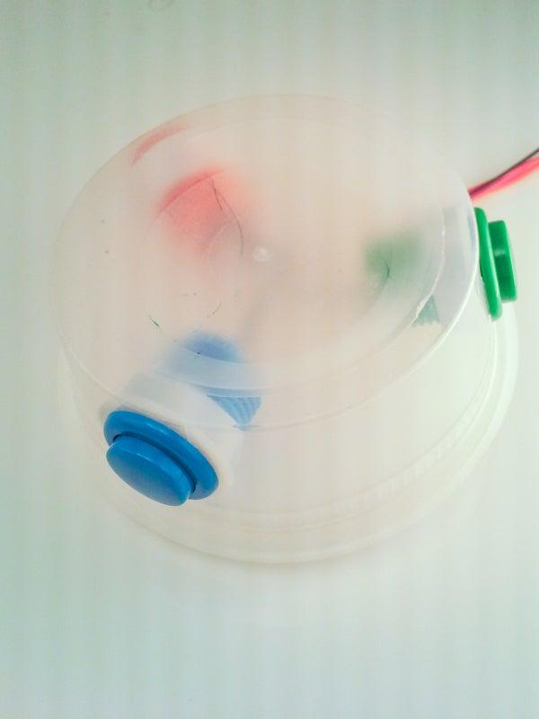 Controlling a SaikoLED Myki (or Arduino Leonardo) With a Simple Button Box -- Using the ICSP Header