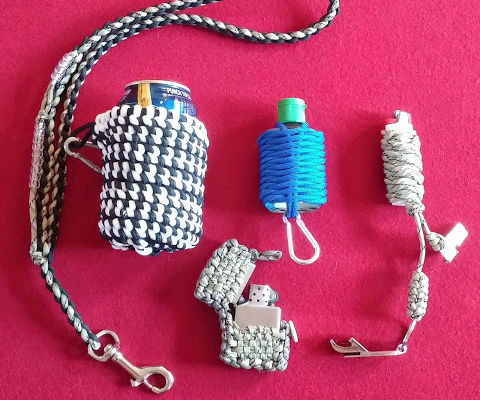 The Redneck Collection: paracord improved camping supplies