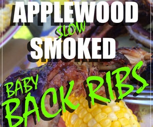 Applewood Slow Smoked Back Ribs