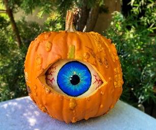 Spooky Double Pumpkin Eyeball