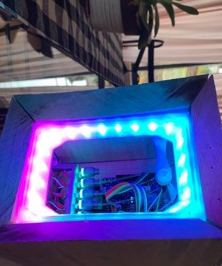 Cyberpunk Multi-Sensor for Security.