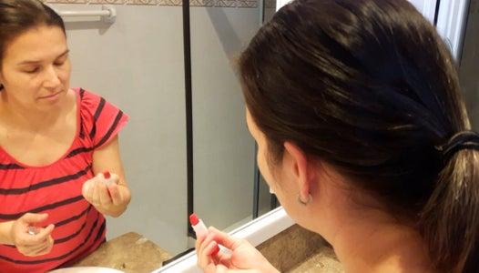 Crayon Lipstick Prank