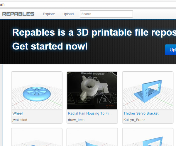 How to Upload 3D Designs to Repables