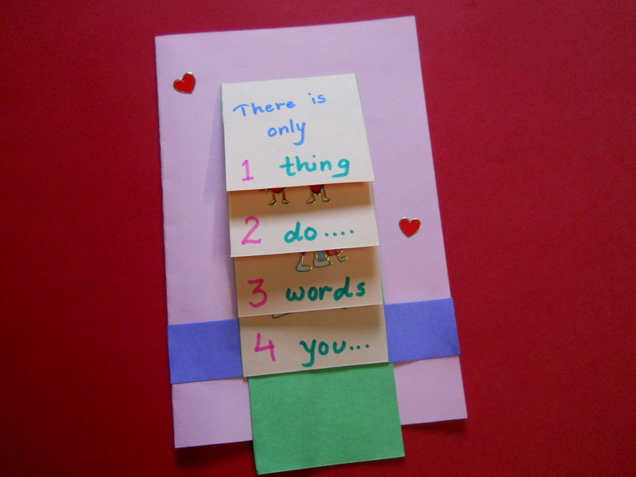 Valentines Waterfall Card : 7 Steps - Instructables