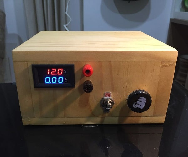 Variable Bench Power Supply