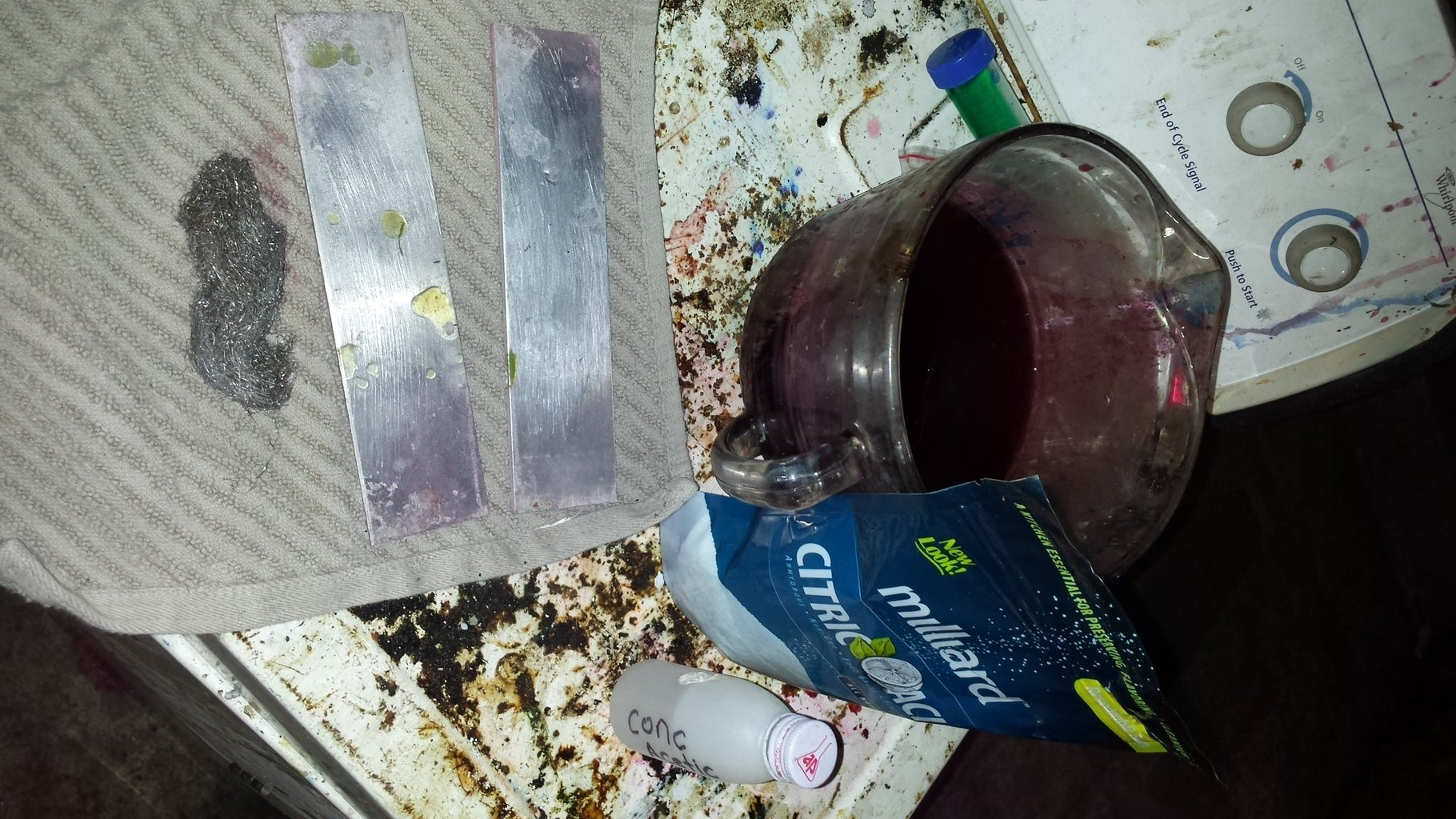 Materials Required  and Chemical Prep for Plates.