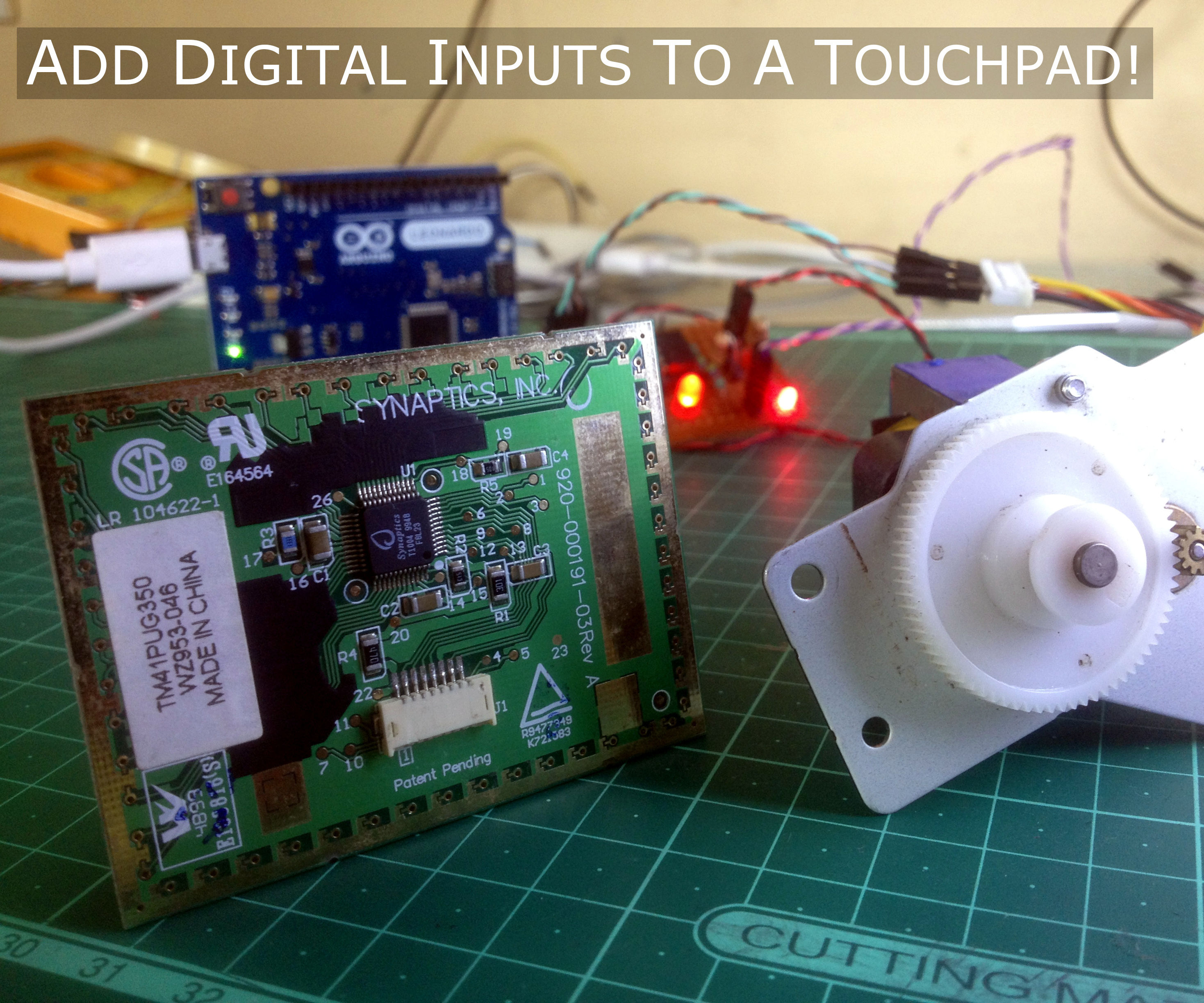 A Cool Touchpad Hack for Arduino Projects!