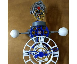 Triaxial Motorized Tourbillon