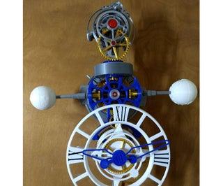 三轴电动陀飞轮
