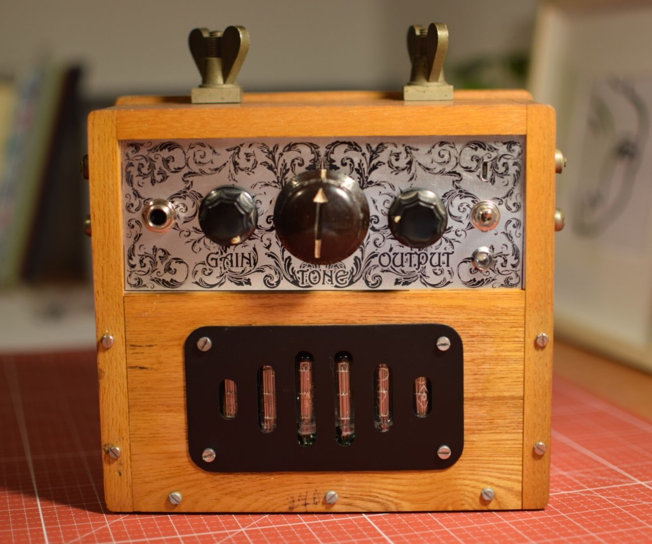 Battery Powered Tube Amplifier