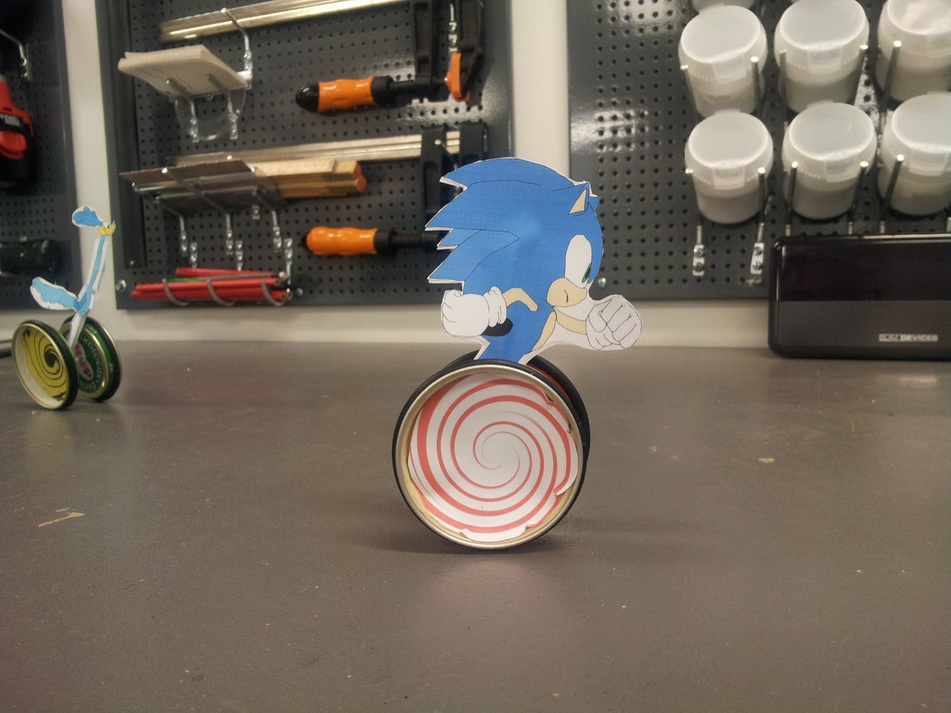 Sonic Toy That Is Really Fun to Make and Use