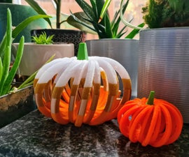 Make a 3D Printable Pumpkin With Codeblocks!