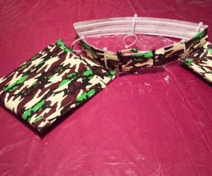 Zip Ties + Duct Tape = Tool Belt