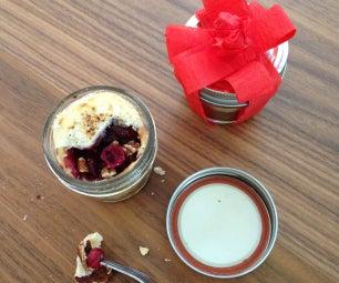 Cranberry Pecan Pie in a Jar