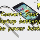 Battery Bank Recycled From Laptop Battery