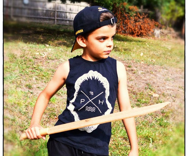 Make a Wooden Sword