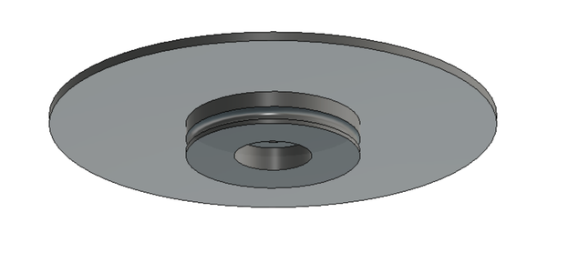 Designing the Rotating Plate