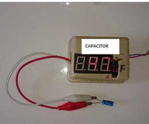 Tiny Auto-measuring Cap Seven Segment With Mini
