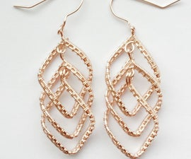 Cascading Diamond Earrings
