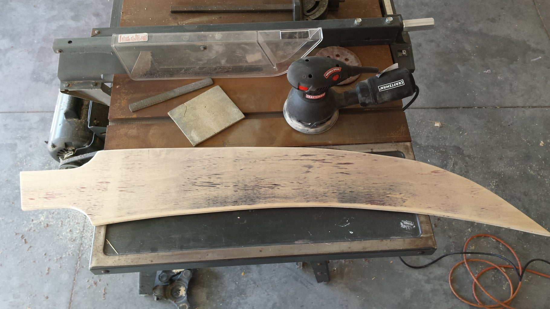 Preparing and Shaping the Blade