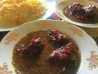 Fesenjoon - Pomegranate Walnut Chicken Stew