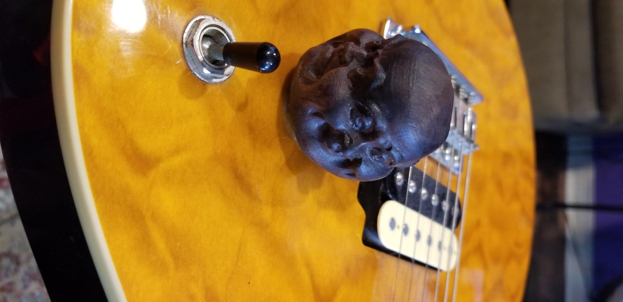 Buddha Head Guitar Volume Knob.