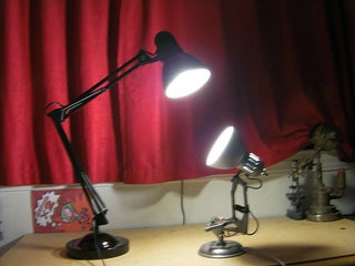 Diy Pixar Luxo Jr Lamp 12 Steps With Pictures Instructables